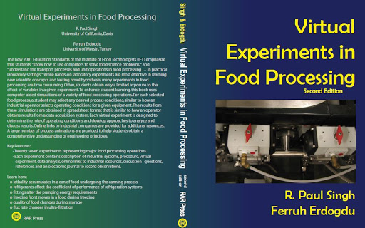 Virtual Experiments in Food Processing for an Enhanced Education